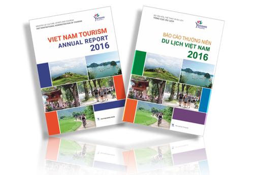 Ảnh: Tổng cục Du lịch phát hành Báo cáo thường niên Du lịch Việt Nam 2016