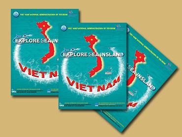 """Tờ gấp Bản đồ du lịch biển đảo """"Explore Sea Island Viet Nam"""""""