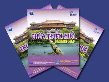 Tờ gấp bản đồ du lịch Thừa Thiên - Huế