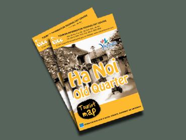 Bản đồ du lịch phố cổ Hà Nội (tiếng Anh)