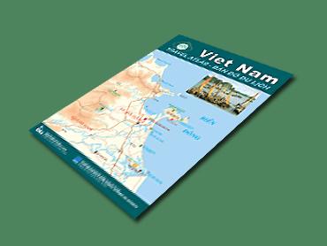 Bản đồ du lịch Việt Nam – Viet Nam Travel Atlas (song ngữ Việt - Anh)